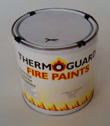 Timber Fire Paint for wood