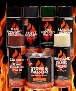Very High Temperature Heat Resistant Paint for stoves and ...
